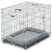 Savic Klatka transportowa dog residence z poduszką - dł. x szer. x wys.: 118 x 76 x 88 cm| -5% rabat dla nowych klientów| dostawa gratis + promocje