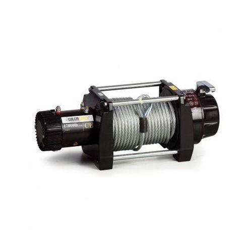 Elektryczne wciągarki linowe 17000 12v - lina stalowa marki B2b partner