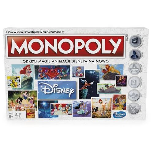 Monopoly disney marki Hasbro