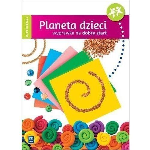 Planeta dzieci. czterolatek wyprawka na start wsip - praca zbiorowa (96 str.)