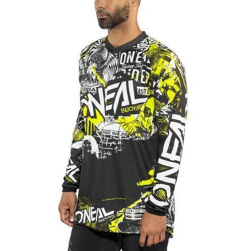 d01eea3fa ONeal Element Koszulka kolarska, długi rękaw Mężczyźni Attack  czarny/kolorowy S 2019 Koszulki MTB
