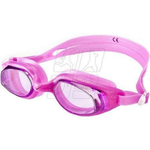 Okularki pływackie Allright Hoste różowe