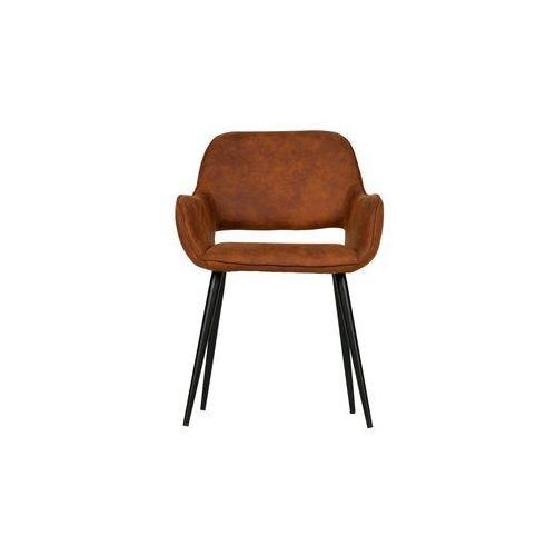 krzesło jelle brązowe set of 2 375466-b marki Woood