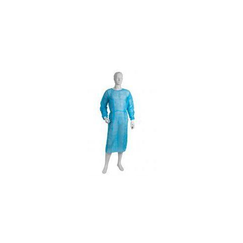 FARTUCH HIGIENICZNY z włókniny niebieski 10szt XL