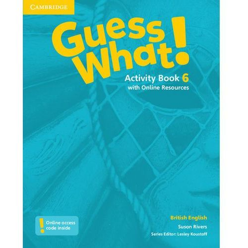 Guess What! 6 Activity Book with Online Resources - Wysyłka od 3,99 (2016)