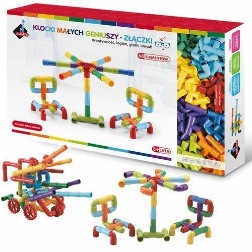 Klocki Złączki 68 elementów w pudełku - DARMOWA DOSTAWA OD 250 ZŁ!!