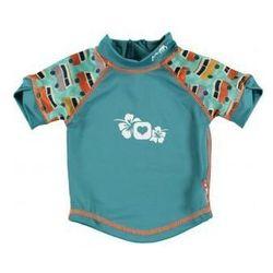 Close, Koszulka do pływania UPF50+, GREEN/GREEN Campervan XL