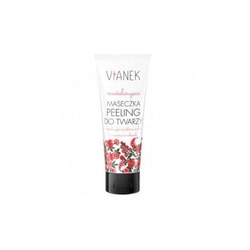 Sylveco Maseczka-peeling do twarzy rewitalizująca 75 ml vianek czerwony