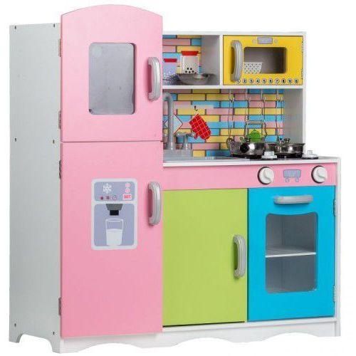 Duża Drewniana Kuchnia Dla Dzieci Z Wyposażeniem 95bf 15405 Ecotoys