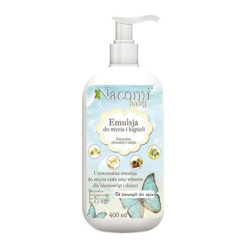 Emulsja do mycia ciała i włosów dla niemowląt i dzieci - 400ml - Nacomi