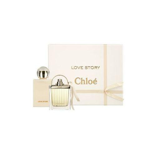 love story, zestaw podarunkowy, woda perfumowana 50ml + balsam do ciała 100ml marki Chloe - 3