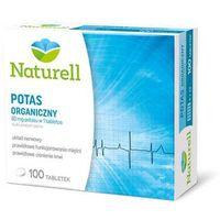 Tabletki Naturell potas - redukuje skórcze mięśni i na nadciśnienie - 100 tabl.