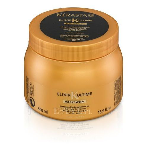 Kerastase Elixir Ultime Oleo Complex - Maska do każdego rodzaju włosów 500ml