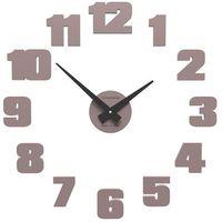 Zegar ścienny Raffaello mały CalleaDesign szara śliwka