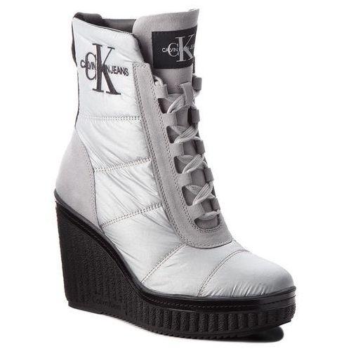4326ba4720f19 Sztyblety jeans - barbara r0732 black (Calvin Klein) opinie + ...