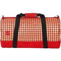 torba podróżna MI-PAC - Duffel Houndstooth Red/Gold (A02) rozmiar: OS