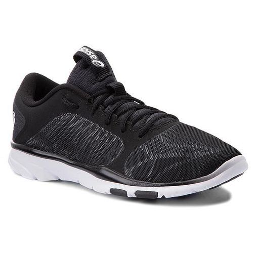 Buty - gel-fit tempo 3 s752n black/silver/white 9093 Asics