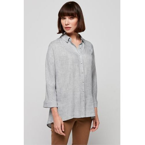 eeaa484dc Szara koszula w drobną kratkę (Patrizia Aryton) opinie + recenzje ...