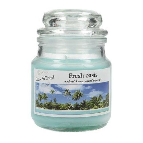 Dekoria świeca zapachowa fresh oasis 80g, 6x6x8,5cm
