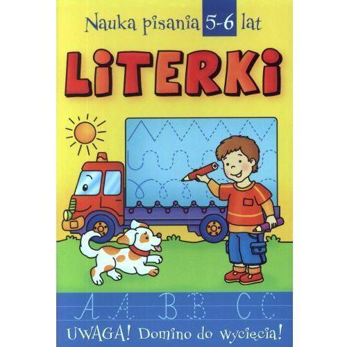 Literki Nauka pisania 5-6 lat (9788360722022)