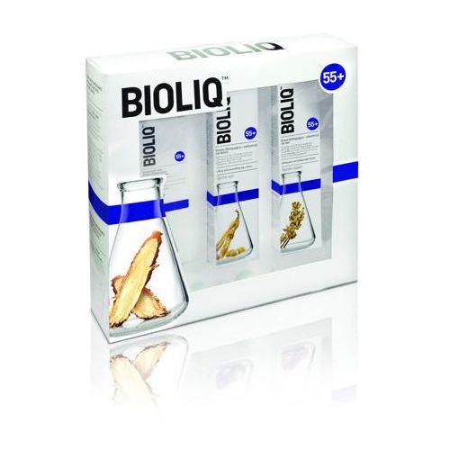Bioliq zestaw 55+ krem liftingująco-odżywczy na dzień 50ml + krem na noc 50ml + krem intensywnie liftingujący 30ml Aflofarm