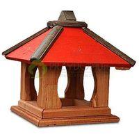 Karmnik dla ptaków K35 czerwony