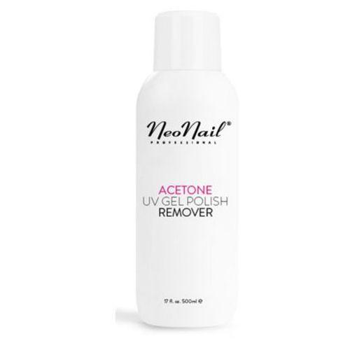 Neonail acetone uv gel polish remover czysty aceton kosmetyczny (500 ml)