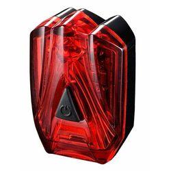 Lampka rowerowa tylna infini lava czarny czerwony