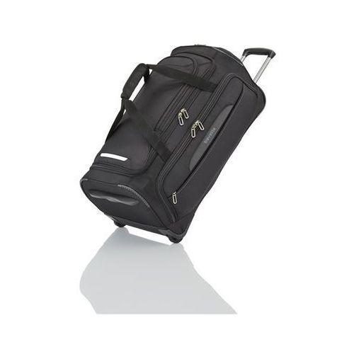 crosslite torba podróżna średnia 82l schwarz 2-koła - czarny marki Travelite