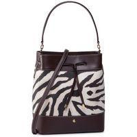 Torebka LAUREN RALPH LAUREN - Debny Drw Med 431782392001 Zebra