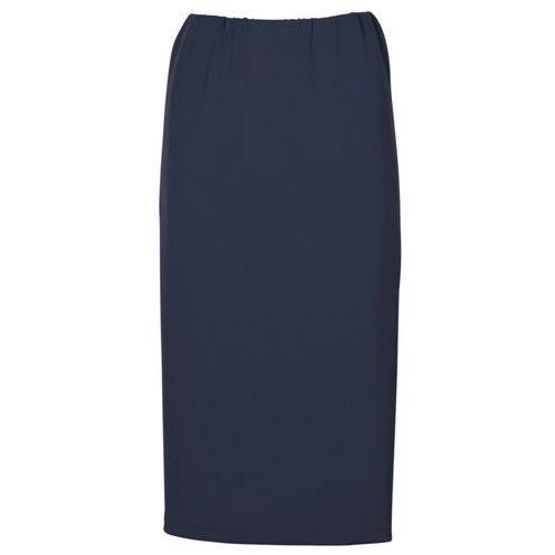 Spódnica ołówkowa ciemnoniebieski, Bonprix, 32-46