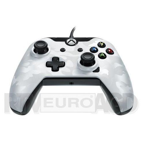 Kontroler deluxe camo white do xbox one marki Pdp
