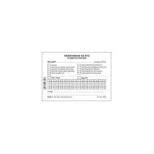 Skierowanie na rtg stomatologiczne [mz/st-4] Firma krajewski