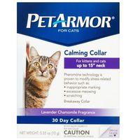 Petarmor calming collar obroża uspokajająca dla kota marki Sergeants pet care