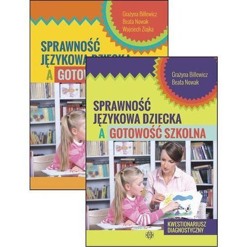 Sprawność językowa dziecka a gotowość szkolna, oprawa miękka