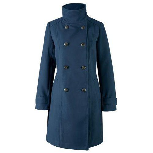 Krótki płaszcz bonprix ciemnoniebieski, w 9 rozmiarach