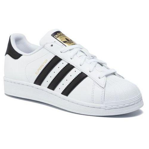 Buty - superstar j c77154 ftwwht/cblack/ftwwht marki Adidas