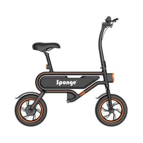 Rower elektryczny 12 czarny darmowy transport marki Sponge