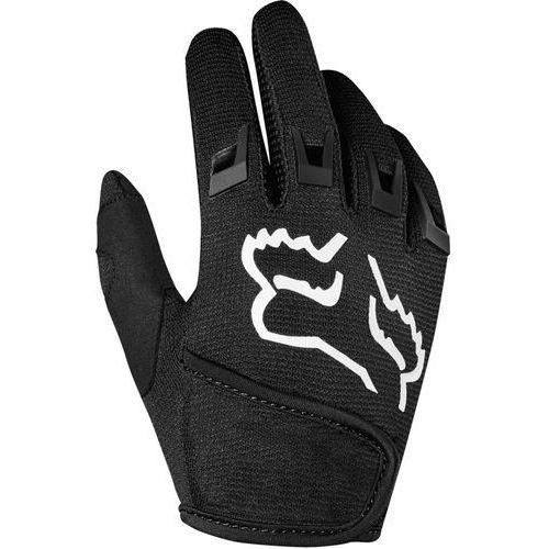 Fox kids dirtpaw rękawiczki chłopcy, black m 2019 rękawice dziecięce