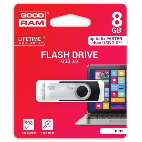 Pendrive GoodRam UTS3 8GB (UTS3-0080K0R11) Darmowy odbiór w 19 miastach! (5908267920787)