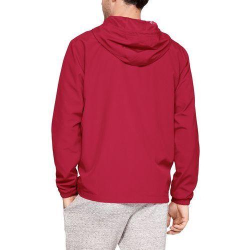 Under armour kurtka sportsyle wind jacket czerwona - czerwony