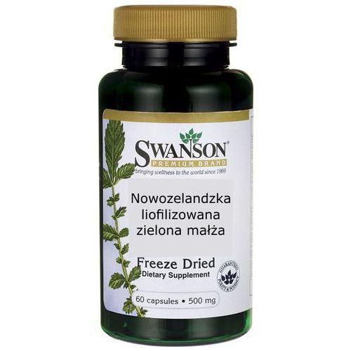 Swanson Nowozelandzka liofilizowana zielona małża 500mg 60kaps - suplement diety