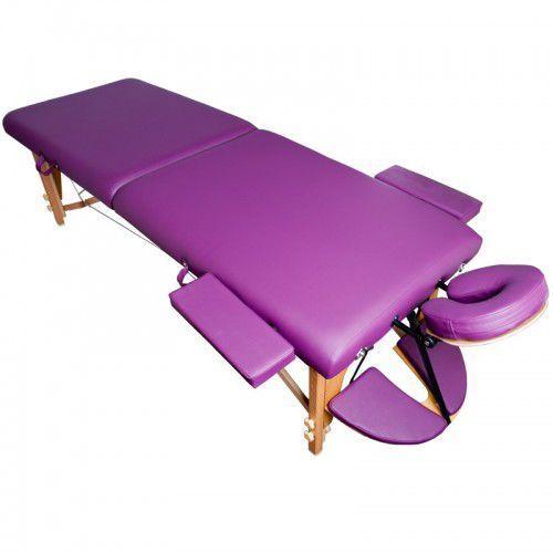 Stół składany do masażu komfort wood at 006s 3 purple marki Activeshop