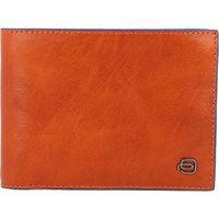 Piquadro Blue Square Special Portfel RFID skórzany 13 cm orange ZAPISZ SIĘ DO NASZEGO NEWSLETTERA, A OTRZYMASZ VOUCHER Z 15% ZNIŻKĄ