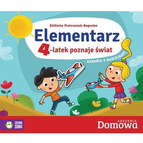 Elementarz 4-latek poznaje świat - Elżbieta Pietruczuk-Bogucka (48 str.)