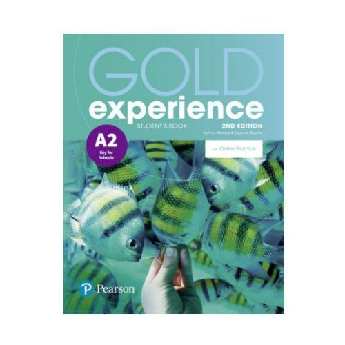 Gold Experience 2nd Edition A2. Podręcznik + Online Practice (9781292237244)