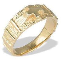 Sygnet ze złota -różaniec jp-35z marki Węc - twój jubiler