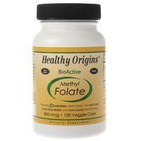 Healthy Origins Methyl Folate (foliany) 80 mcg - 120 kapsułek
