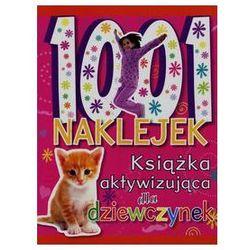 Olesiejuk 1001 naklejek książka aktywizująca dla dziewczynek - wydawnictwo