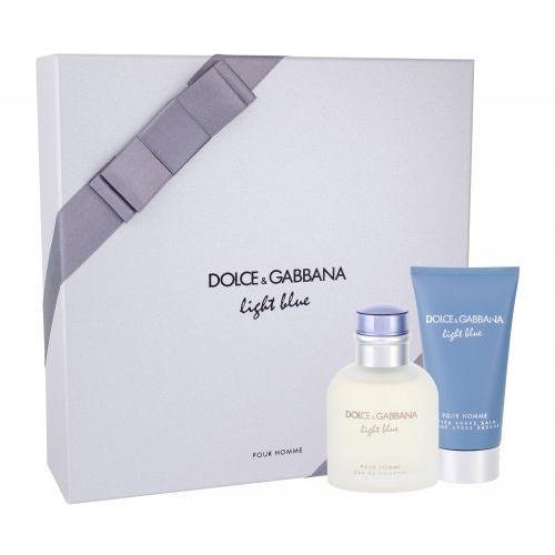 light blue pour homme zestaw edt 75ml + 75ml balsam po goleniu dla mężczyzn marki Dolce&gabbana